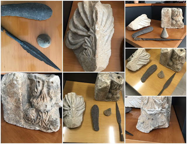 Εντοπίστηκε ταξιδιωτικός σάκος γεμάτος αρχαία αντικείμενα (+ΦΩΤΟ)