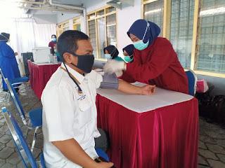 Giliran Pegawai BPN Jember Terima Suntikan Vaksin Tahap Ke-2