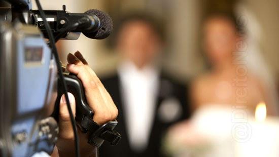 filmagem casamento noiva indenizacao dano moral