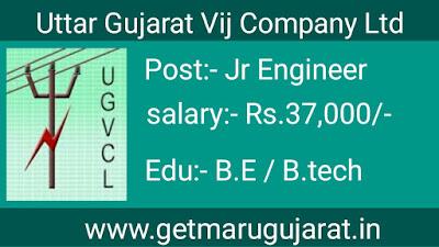 UGVCL Vidyut Sahayak Recruitment, UGVCL Recruitment