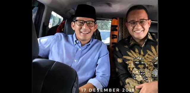 Anies Unggah Foto Kebersamaan di Instagram, Sandiaga: Mantan Terindah Gak Mas?