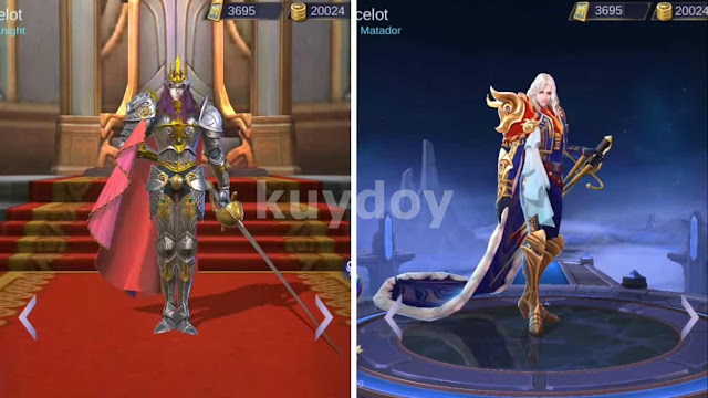 Download Script Skin Epic Lancelot Mobile Legends Patch Terbaru