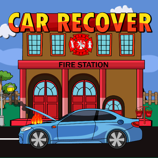 Recover A Burning Car On …