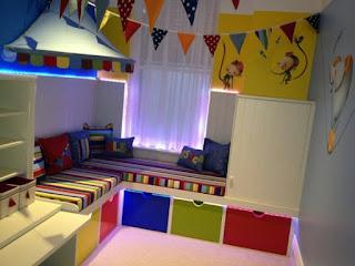 الوان الغرفة المناسبة لطفلك لتحسين مزاجه وسلوكه