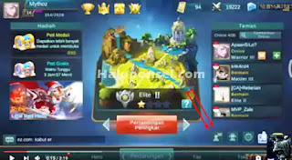 Cara hack Diamond Mobile Legends di android