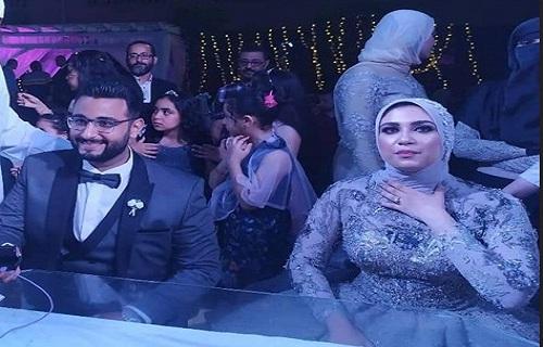 """""""بالصور"""" محمد ومنه أول حالة زواج في مصر بالمأذون الإلكتروني.. شاهد الصور والتفاصيل"""