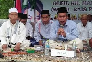 KH. Marzuki Mustamar Tanggapi Tudingan Miring Kepada NU dan KH. Ma'ruf Amin