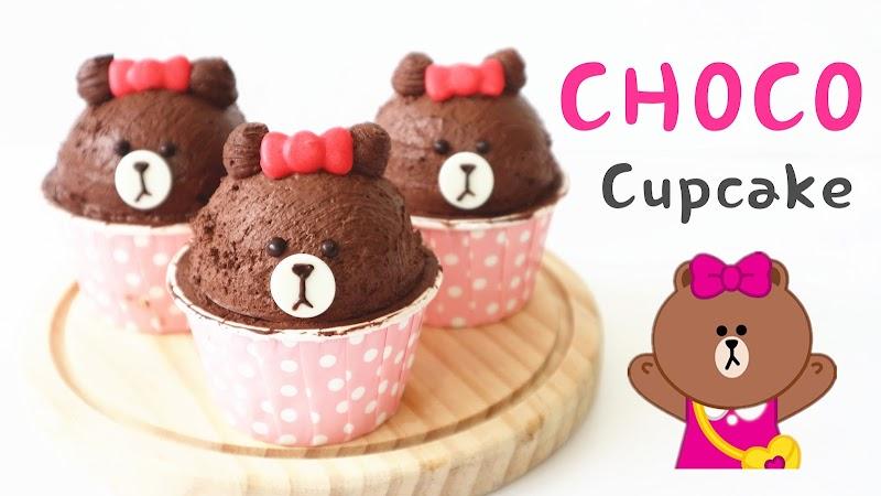 Choco Cupcake 熊大妹妹杯子蛋糕