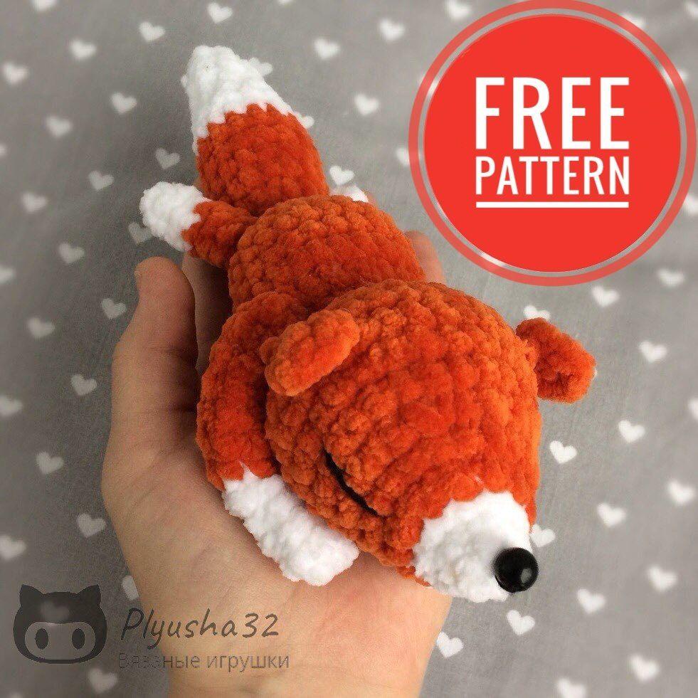 Crochet Fox Rattle - Crochet 365 Knit Too   981x981
