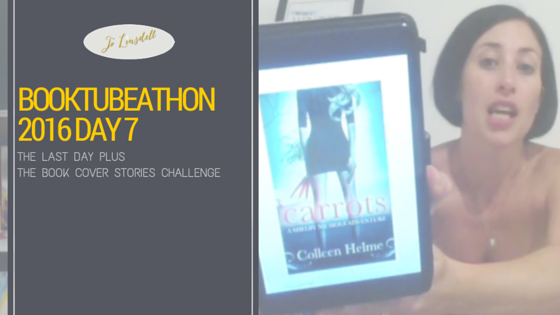 BookTubeAThon 2016 Day 7: The Final Day & The Book Cover Stories Challenge
