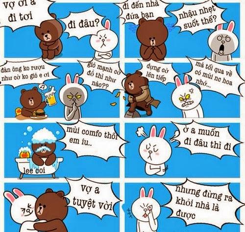 Hài hước về cuộc sống của Brown và Cony