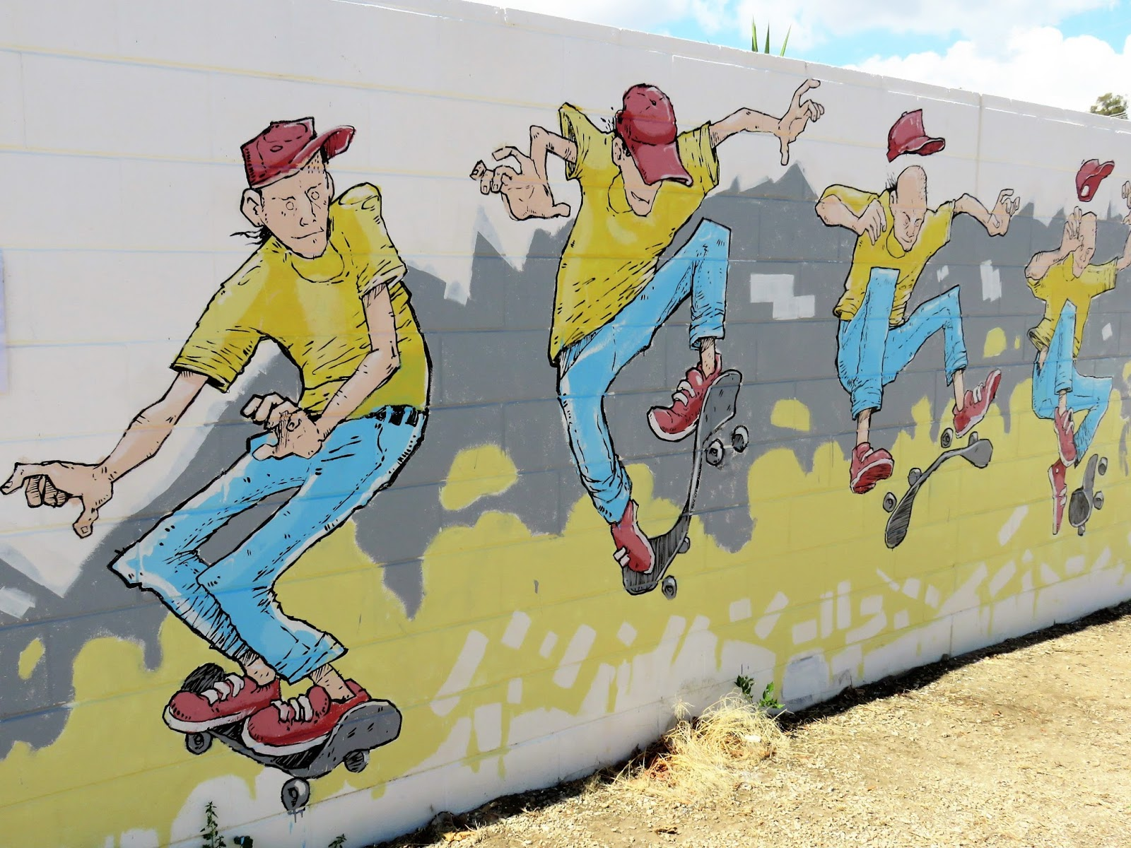 Villa Nuffka Views: The 2nd Benalla Wall to Wall Street Art Festival ...