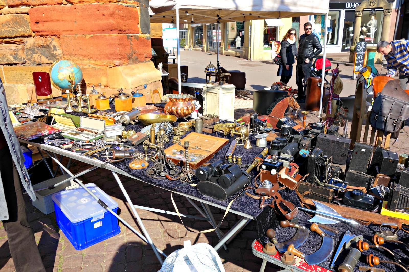 Flea Market ~ Colmar ~ Making on the Mountain ~ cymberrain