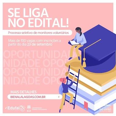 Bienal lança edital para seleção de estudantes