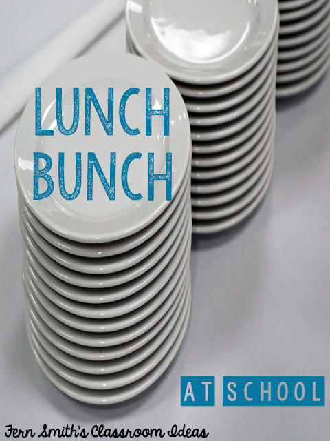 Fern Smith's Classroom Ideas Tuesday Teacher Tips: Social Committee's Lunch Bunch #FernSmithsClassroomIdeas