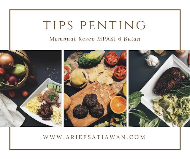 tips membuat mpasi