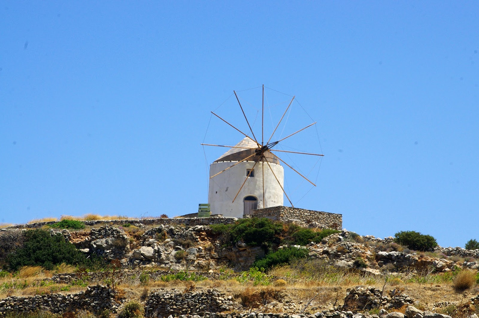 Paros Mountain Villages Windmills