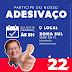 Alfredo e Conceição fazem adesivaço #somos22 neste sábado