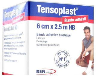 Bande adhésive élastique Tensoplast