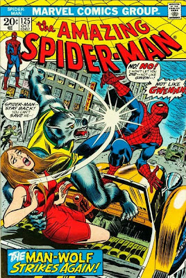 Amazing Spider-Man #125, Man-Wolf