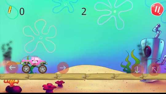 Game Bob Monster Truck Racing - Under Water