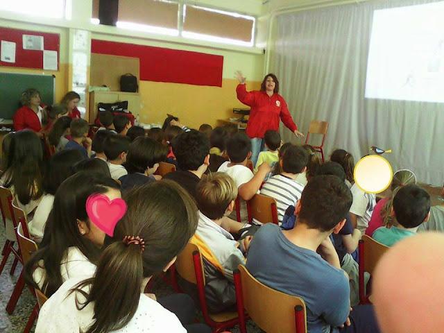 Βιωματικό σεμινάριο πρώτων βοηθειών στο Δημοτικό Σχολείο Λυρκείας