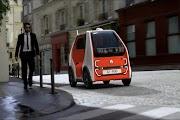 Renault EZ-POD: Concept car for fast transportation