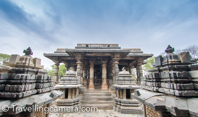 There are multiple important things to explore inside Chennakeshava Temple and here are some of them -   Gravity Pillar (Lampost)  Andal (Ranganayaki) Temple  Veera Narayana Temple  Observe Miniature Shrines  Lintels around temple enterances  Narasimha Pillar   Madanikas   And lot more... There are are plenty of things to observe closely at Hoysala marvel Chennakeshava temple.