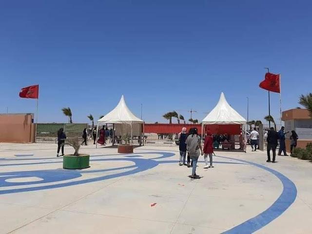 مدينة العيون عاصمة الأقاليم الجنوبية بالصحراء المغربية تدخل تاريخ من بابه الواسع..