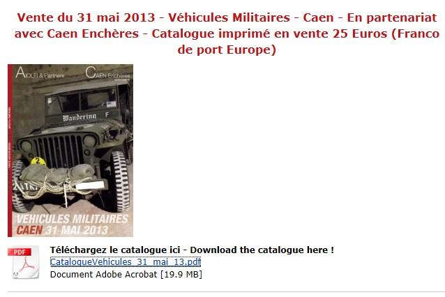 souvenez vous 44 vente aux encheres vehicules militaires de collection. Black Bedroom Furniture Sets. Home Design Ideas