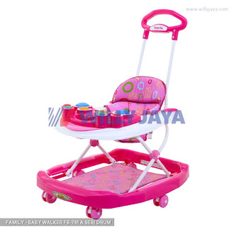 FAMILY - BABY WALKER FB-781 A SERI DRUM