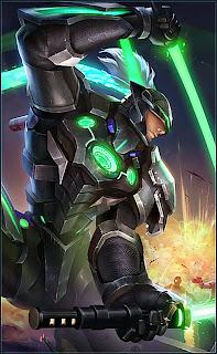 Saber Force Warrior Heroes Assassin of Skins Starlight Rework