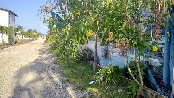 ảnh thực tế nền A16 trong dự án đất nền happy garden hồ tràm của cty thiên hải group