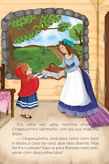 História Chapeuzinho Vermelho (Conta Pra Mim) para Imprimir Grátis