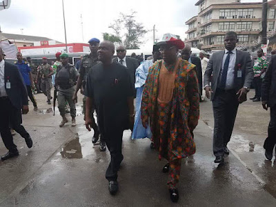 PDP Convention Kicks Off Finally as Dignitaries Arrive