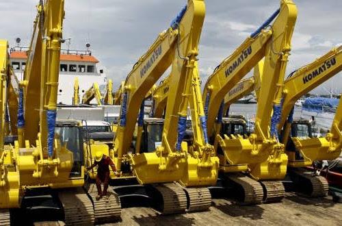 United Tractors Jual Alat Berat Komatsu Dukung Kegiatan Pertambangan