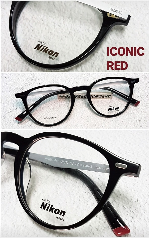 Nikon NC2027 ICONIC RED collection