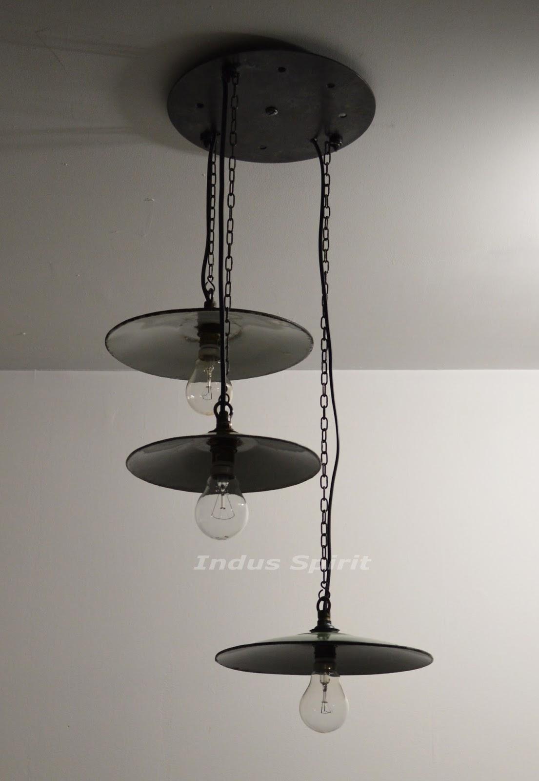 suspension industrielle. Black Bedroom Furniture Sets. Home Design Ideas