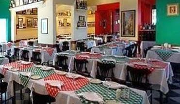 Cantina no Bixiga decorada com cores típicas da cultura italiana