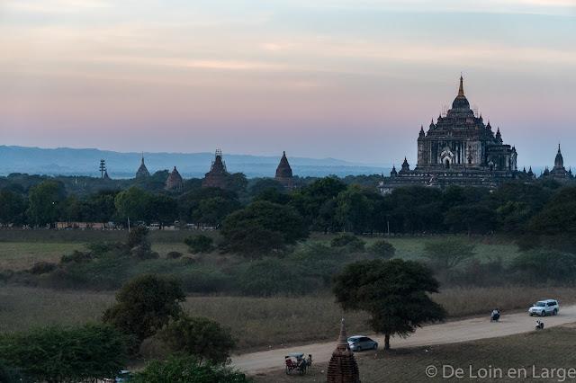Vue de Shwe-San-Daw Pagoda - Bagan - Myanmar - Birmanie