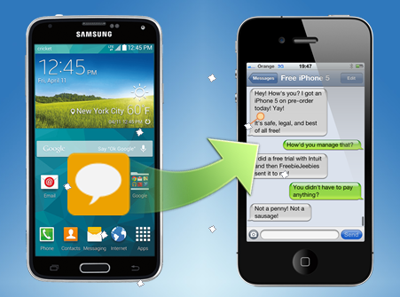 Transfer Data to New iPhone: How to transfer android SMS to
