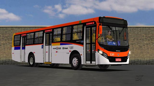 OMSI 2 - Caio Apache VIP IV Volksbus 17.230 OD padrão Recife