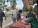 TNI-POLRI Dan Forkopimcam Bandongan Gelar Operasi Yustisi Gabungan Di Kalegen
