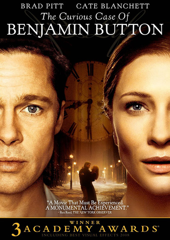 The Curious Case of Benjamin Button 2008 Dual Audio ORG Hindi BluRay 720p 1.2GB DD5.1Ch ESubs poster