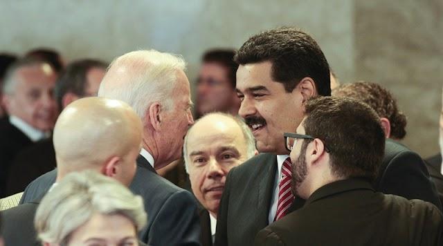 #Biden planea dialogar con el presidente #Maduro mientras ignora a #Guaidó, según #Bloomberg