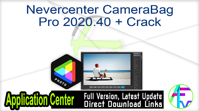 Nevercenter CameraBag Pro 2020.40 + Crack
