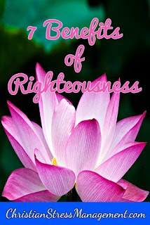 The benefits of righteousness