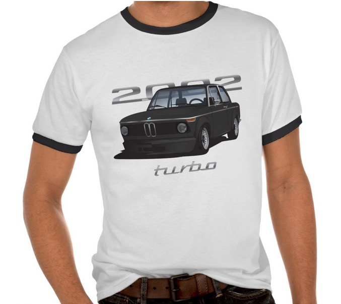 70's BMW 2002 turbo t-shirt