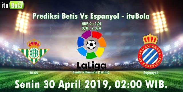Prediksi Betis Vs Espanyol - ituBola