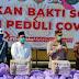 Polres Kotabaru Salurkan 20 Ton Beras Untuk Warga Terdampak COVID-19
